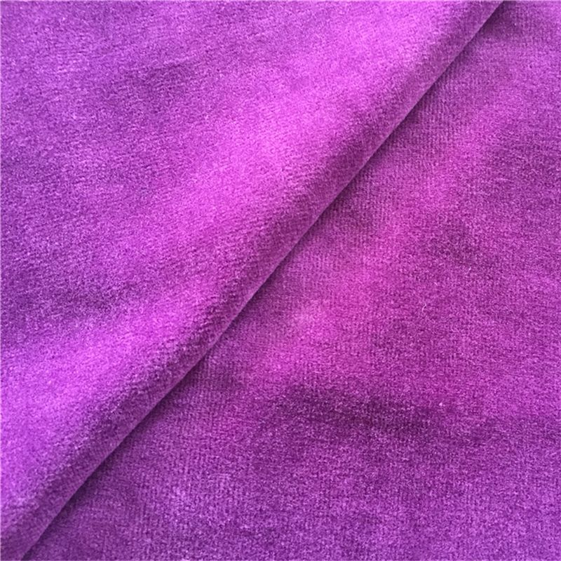 BCI cotton solid cvc velour